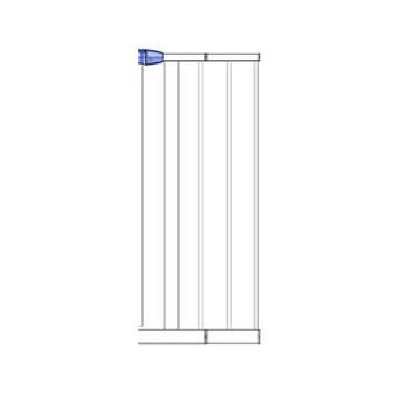Easy Fit Gate Extension White 7cm