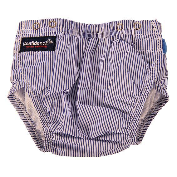 Swim Nappy Blue Stripes 3 to 24 Months
