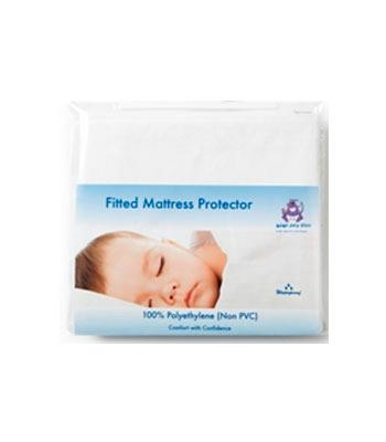 Fitted Cot Mattress Protector (Non PVC) 60x120cm