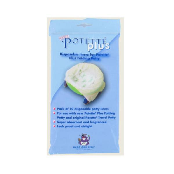Potette Plus Disposable Liners 10 Pack