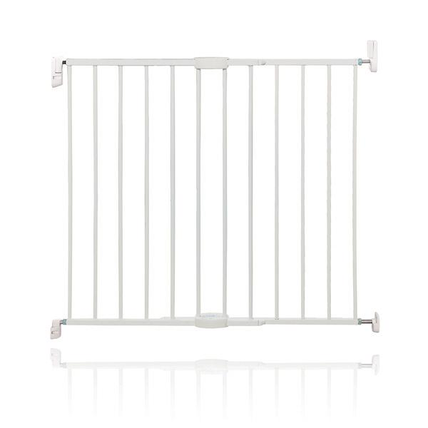 Extending Metal Gate White 62cm - 102cm